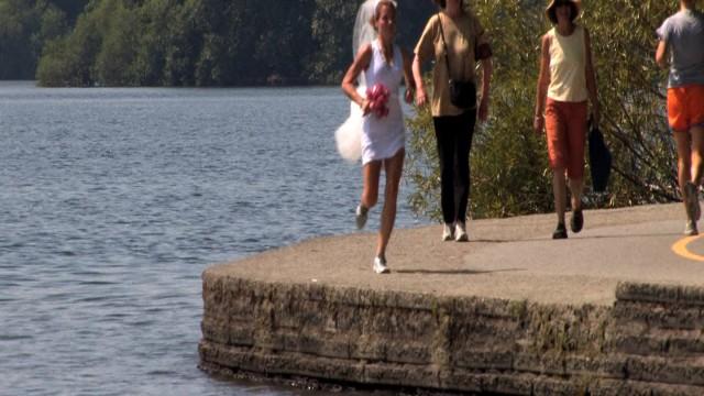 The Runner's Wedding Dress