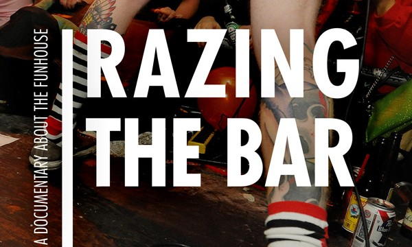 RAZING THE BAR is screening all over Seattle